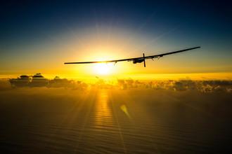 Тестовый полет над Гавайскими островами, США