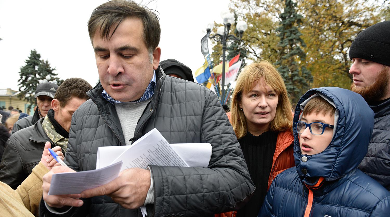 Жена Саакашвили готовит протесты в Грузии