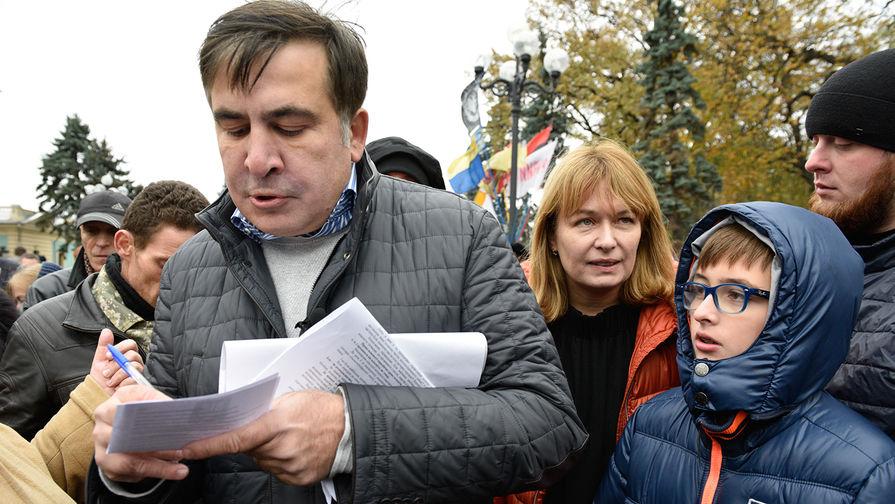 Жена Саакашвили проигрывает выборы мэра