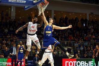 «Химки» победили «Бамберг» в матче баскетбольной Евролиги