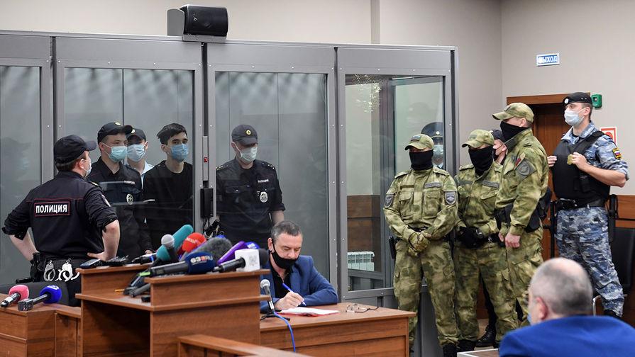 Ильназ Галявиев в зале заседаний Советского районного суда Казани, 12 мая 2021 года
