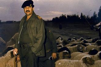 Саддам Хусейн, дата снимка неизвестна