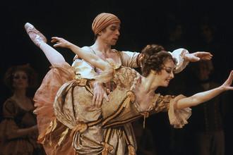 Рудольф Нуреев на генеральной репетиции балета «Дон Кихот» в Бостоне, 18 января 1983 год
