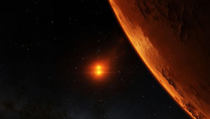 Москвичи увидят сближение Марса и «планеты-лежебоки»