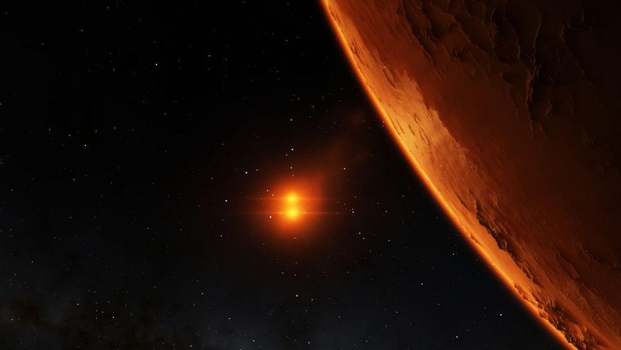 На поверхности Марса нашли эмблему «Звездного флота»