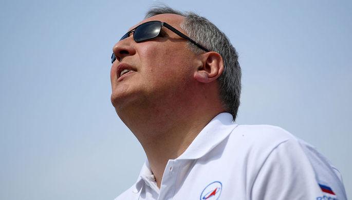 Генеральный директор государственной корпорации «Роскосмос» Дмитрий Рогозин