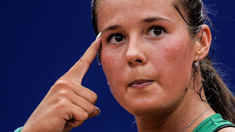 Касаткина победила Цуренко в первом круге ВТБ Кубка Кремля