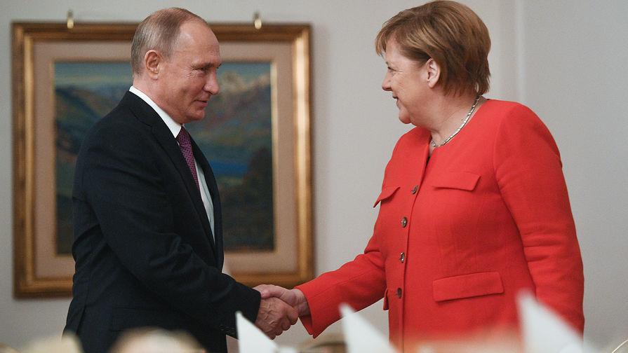 Путин раскрыл свое отношение к политике Меркель