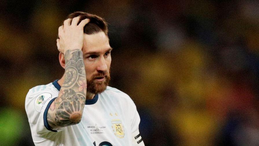 Лионель Месси в составе сборной Аргентины