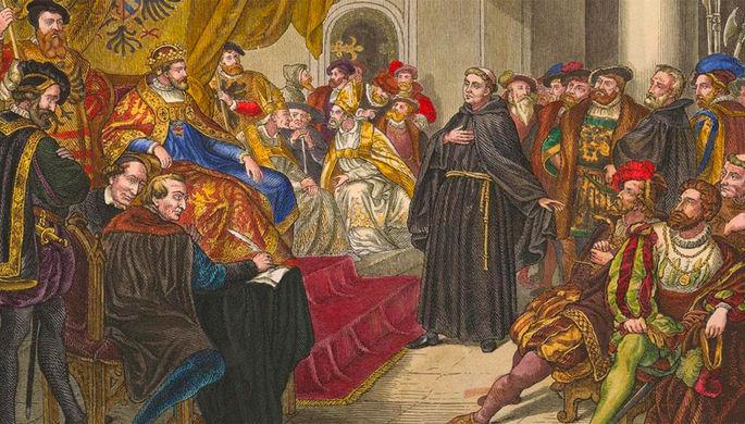 «Злой дух в виде человека»: как Мартин Лютер бросил вызов католической церкви