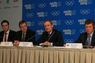 Комиссия МОК проинспектировала ход строительства олимпийских объектов в Сочи