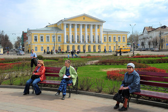 Здание Костромкого областного суда
