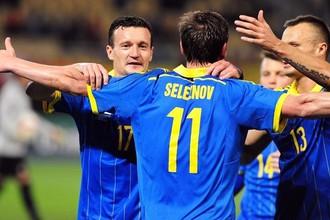 Украина сохраняет шансы пробиться на Евро-2016 с третьего места в группе