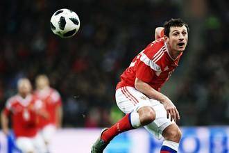 Футболист сборной России Алан Дзагоев