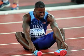 Американский легкоатлет Джастин Гэтлин