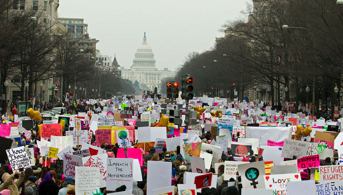 Женский марш в Вашингтоне, 2019 год