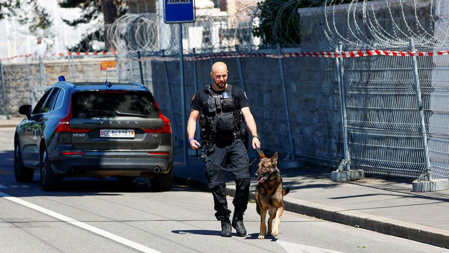 Полиция на улицах Женевы в предверии встречи Владимира Путина и Джо Байдена