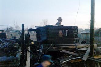 Пожар в жилом доме в поселке Нижняя Пойма произошел в ночь на понедельник