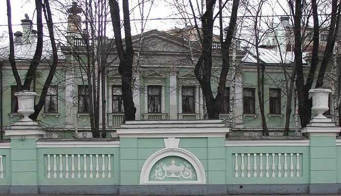 Особняк на Пречистенке, 16, ныне Дом ученых
