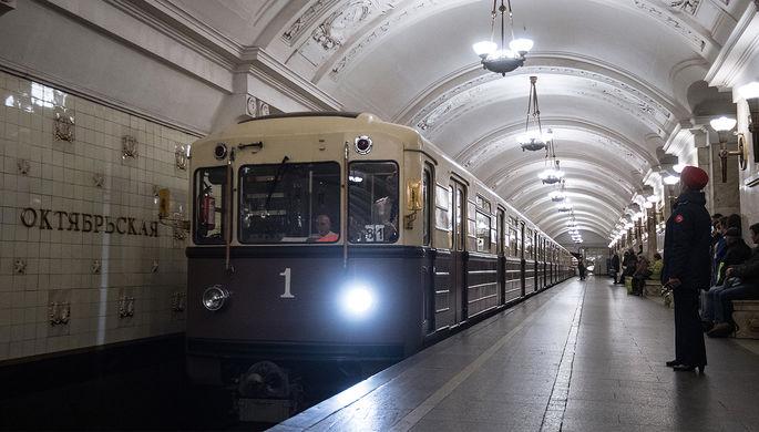 Сбой произошел на салатовой ветке московского метро