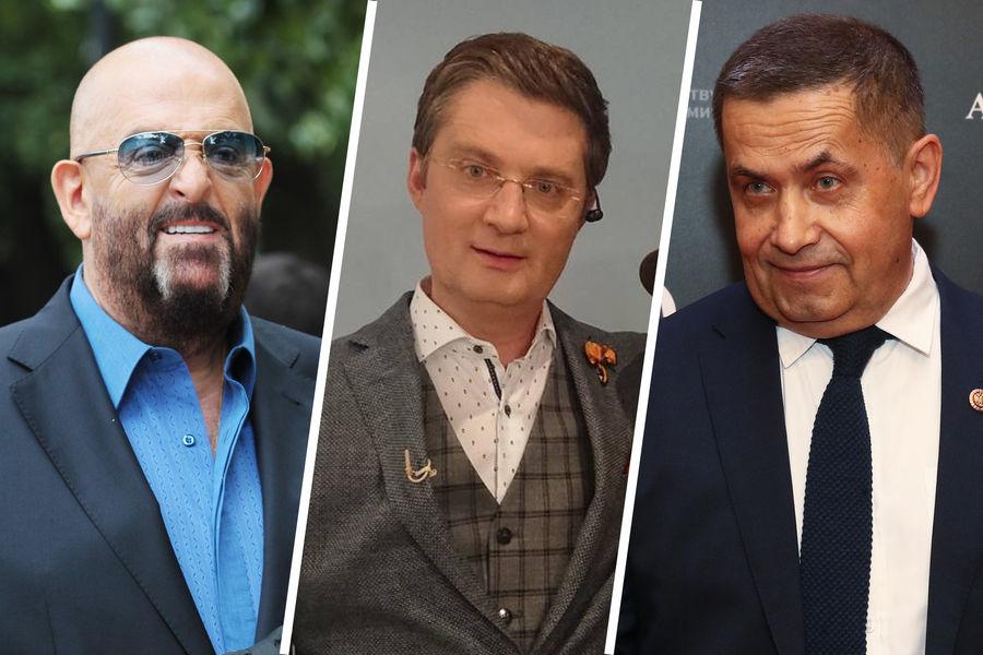 Михаил Шуфутинский, Игорь Кондратюк и Николай Расторгуев