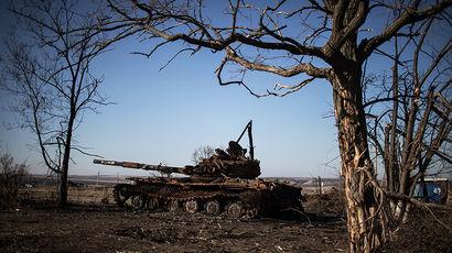 Как на Украине судят танкиста из России, взятого в плен в ходе боев под Дебальцево