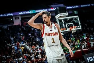 Лидер мужской сборной России по баскетболу Алексей Швед