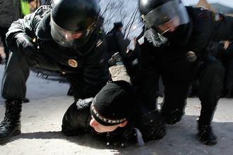 Задержание Ильдара Дадина на одной из демонстраций