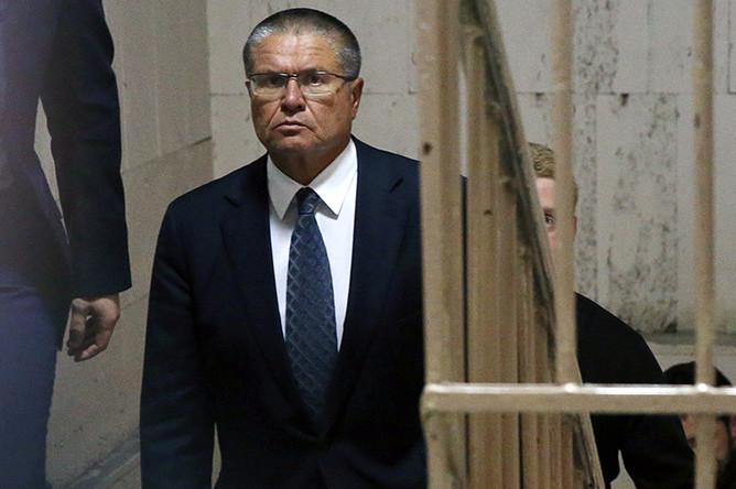 Алексей Улюкаев в Басманном суде