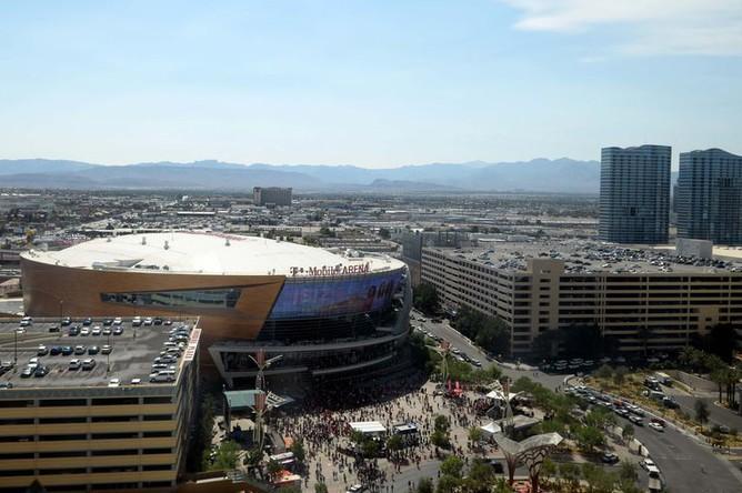 «Ти-Мобайл Арена» перед матчем «Вегас» — «Вашингтон»