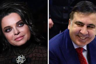 Саакашвили обнадежил: Наташа Королева торопится в Киев на могилы