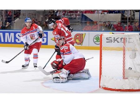 Канадцы в упорнейшем поединке одолели чехов в матче чемпионата мира — 2014 по хоккею
