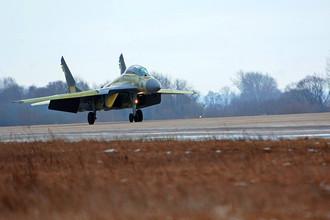 Истребитель МиГ-29 рухнул в Подмосковье