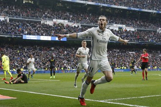 Гарет Бэйл забил в матче против «Эспаньола» — своей первой игре после долгого отсутствия по причине травмы