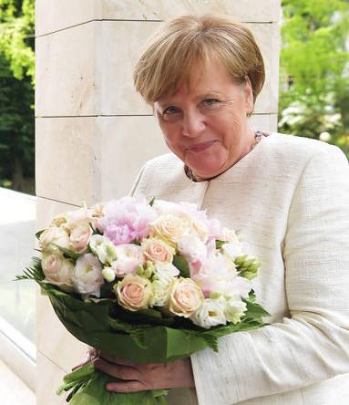 Федеральный канцлер ФРГ Ангела Меркель во время встречи в Сочи, 18 мая 2018 года
