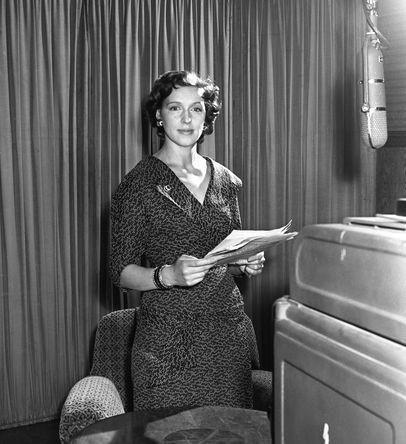 Валентина Леонтьева, 1957 год