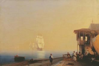 Иван Айвазовский. Набережная восточного города. 1852