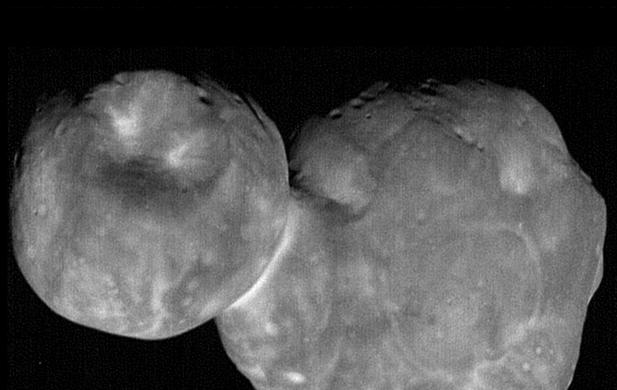 В NASA показали самый детальный снимок астероида Ультима Туле