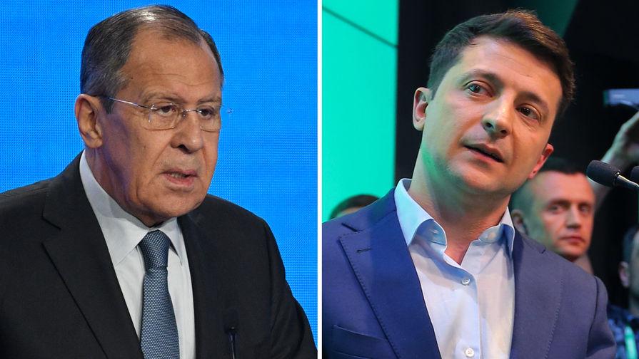 Лавров: Зеленский хочет мира в Донбассе, но ему не позволяют двигаться к нему
