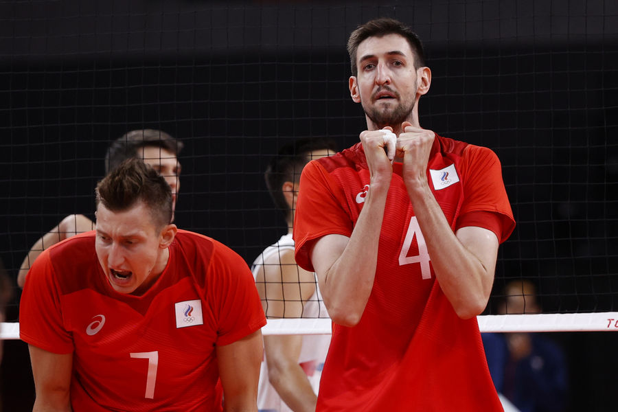 Сборная России поволейболу наОлимпийских играх вТокио