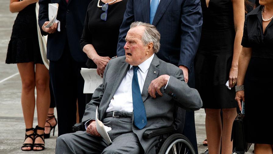 Чем заболел Джордж Буш-старший