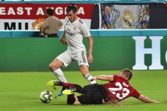 Эпизод матча «Манчестер Юнайтед» — «Реал Мадрид»