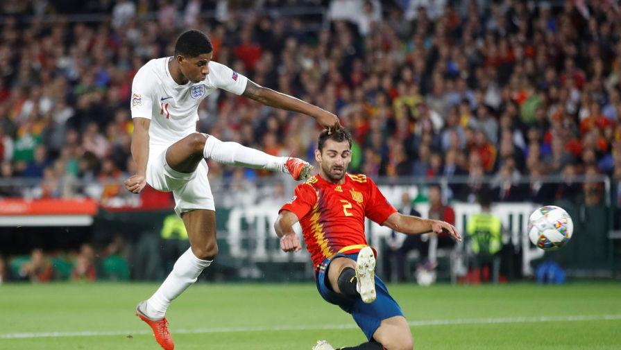 Испания проиграла Англии в Лиге наций УЕФА