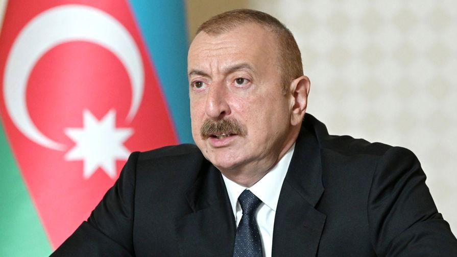 Алиев назначил временную спецадминистрацию в Карабахе