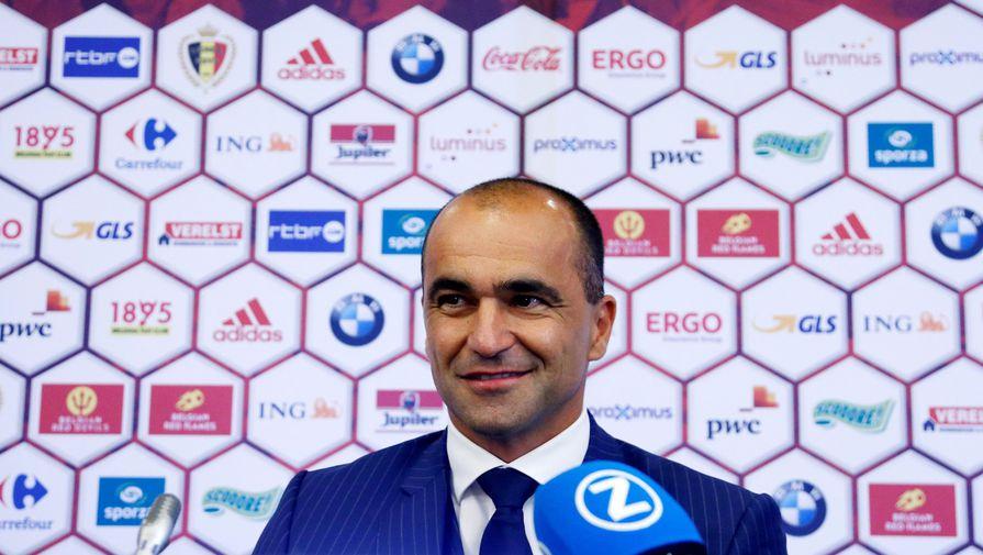 Главный тренер сборной Бельгии Мартинес продлил контракт до 2022 года