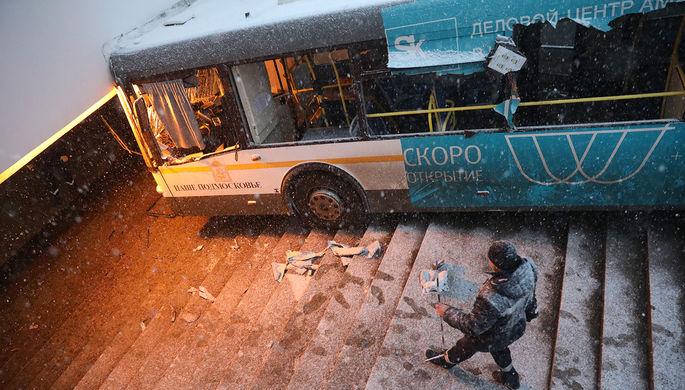 «Странный» автобус: паника водителя привела к трагедии