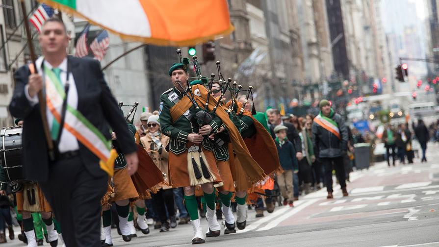 Празднование дня Святого Патрика в Нью-Йорке, 16 марта 2019 года