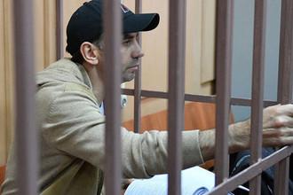 Бывший министр Российской Федерации по связям с Открытым правительством Михаил Абызов, обвиняемый в мошенничестве на 4 миллиарда рублей и создании организованного преступного сообщества, в Басманном суде Москвы, 27 марта 2019 года