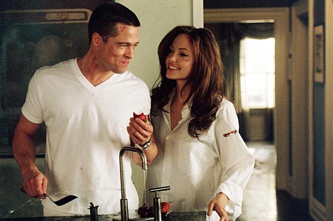 Кадр из фильма «Мистер и миссис Смит» (2005)