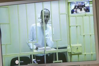 Юсуп Темирханов, осужденный за убийство бывшего командира 160-го гвардейского танкового полка Юрия Буданова, во время рассмотрения жалобы на приговор в Верховном суде РФ, 2013 год